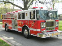 Engine 82. 1984 Ford/Boyer fire engine