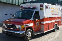 Medic 81. 2005 Ford/Braun type 3 ambulance